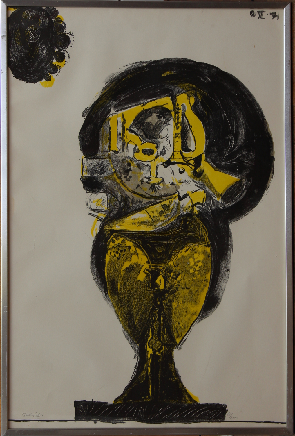 Graham Sutherland-Standing Rock Form-1971
