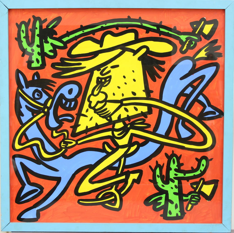 Hans Eijkenboom-Cowboys and Indians-1980