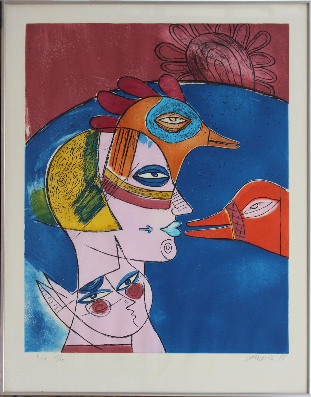Corneille-Game between cat and bird-1978