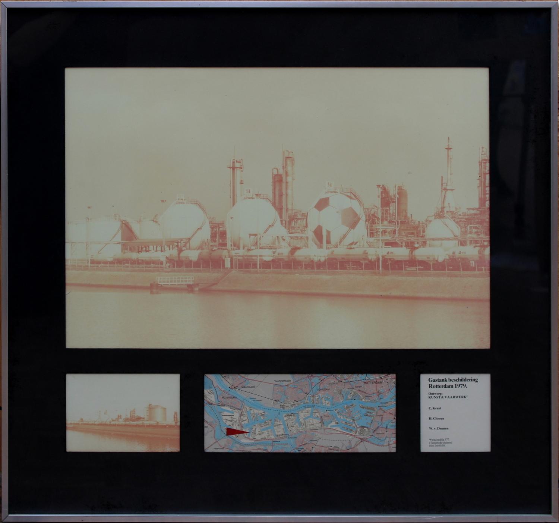 Kunst & Vaarwerk-Design Gastank painting-1979