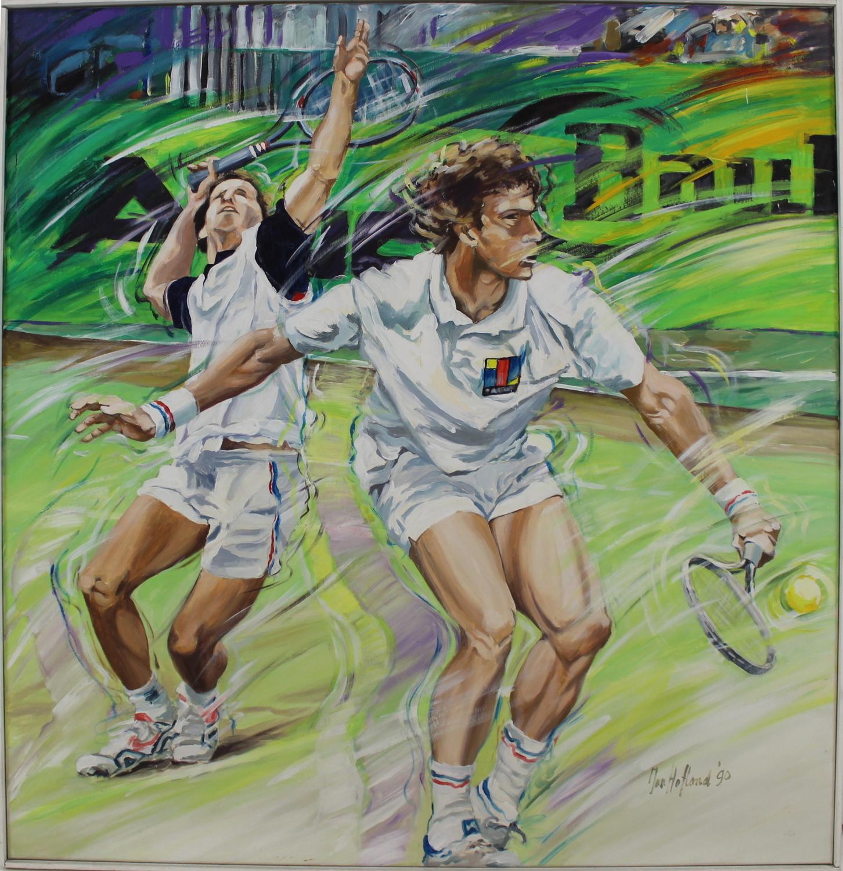 Jan Hofland-Double game-1990
