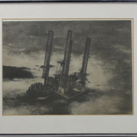 Maurice Phillips-Oil Rig-1979