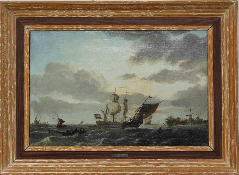 Hollandse School, manier van Simon de Vlieger - Sailing offshore-