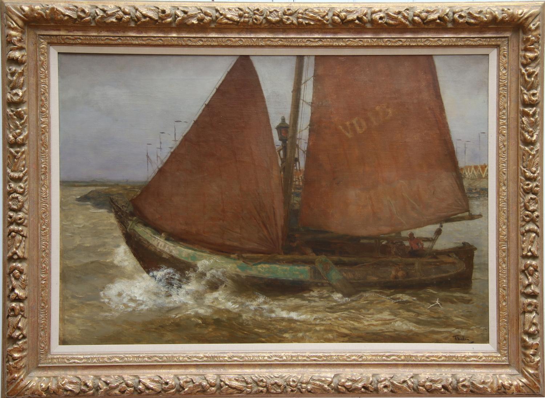 Willem Bastiaan Tholen-Volendam fishing cutter-