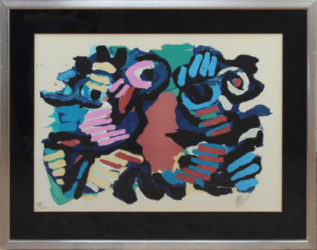 Karel Appel-Summer couple-