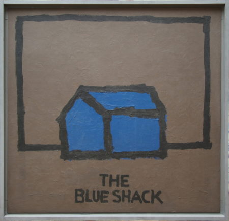 Mark Brusse-The blue shack-1986