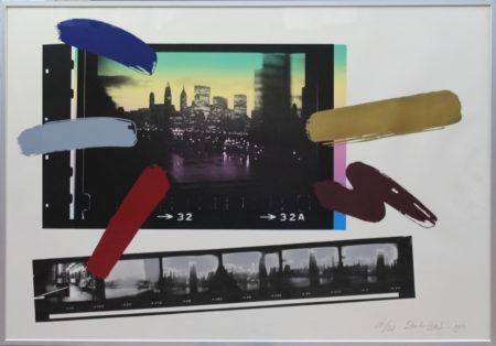 Bob Lens-From Manhattan Bridge, NY-1980