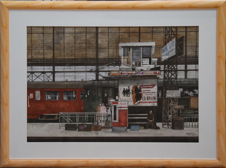 Maarten Kemper-Station Bordeaux-1970