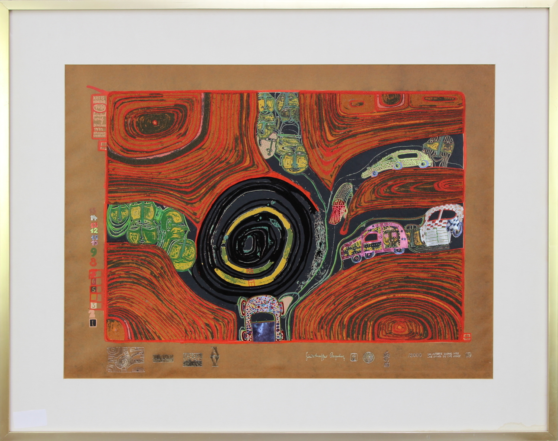 Friedensreich Hundertwasser-Crusade of the Crossroaders-1971