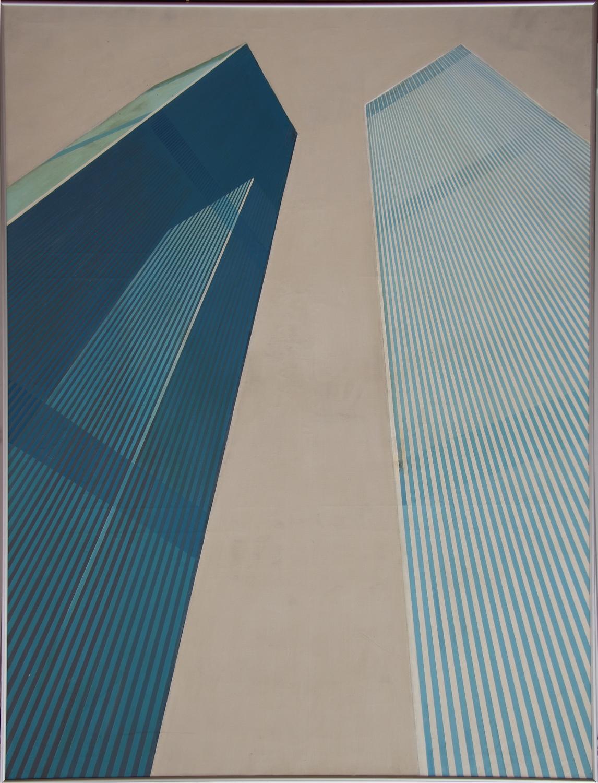 Rits van Kooten-From WTC Plaza-1975