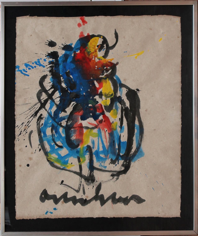 Anton Heyboer-Woman midst of gent-1980