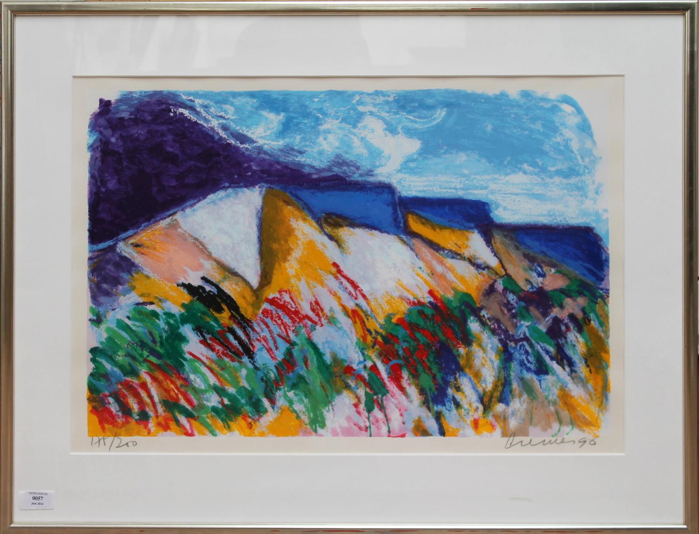 Jan Cremer-Mont Sainte Victoire-1996