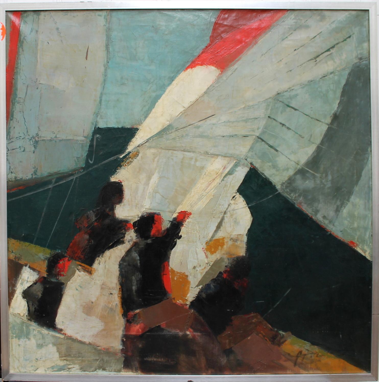Wim Motz-Sailboats-1960
