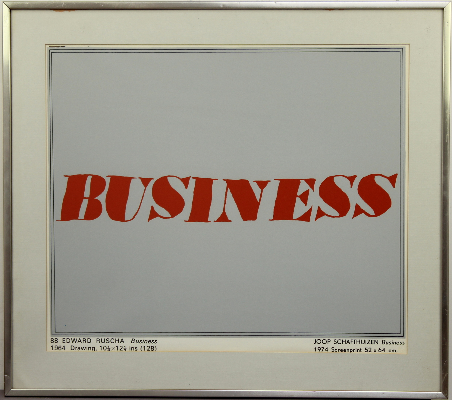 Joop Schafthuizen-Business-1974