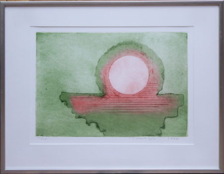 Jan Montyn-Abstract composition-1980
