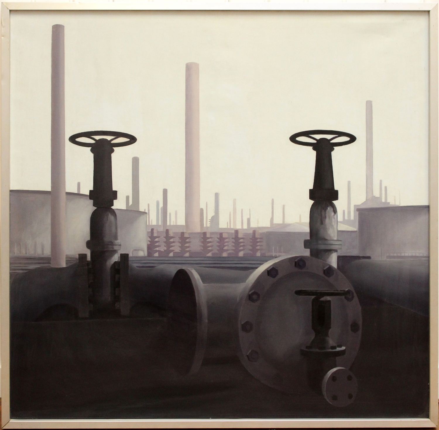 Harry van der Woerd-Refinery-