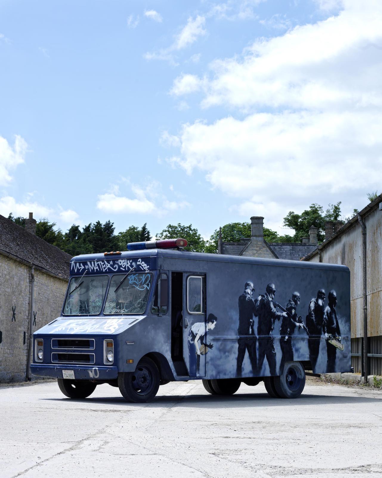 Banksy-SWAT Van-2006