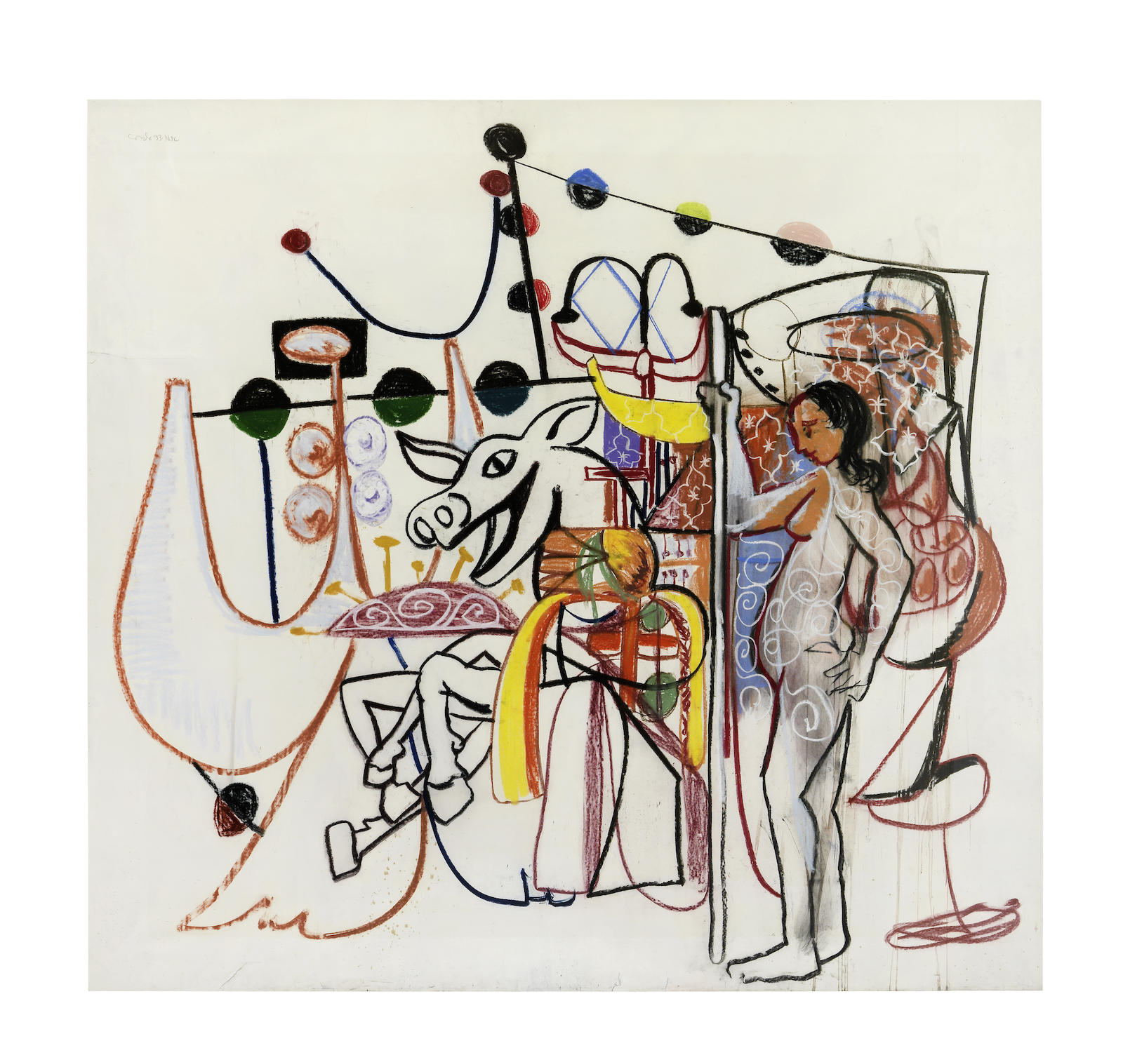 George Condo-Untitled-1993