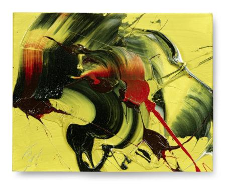 Kazuo Shiraga-Auspicious Yellow-1970