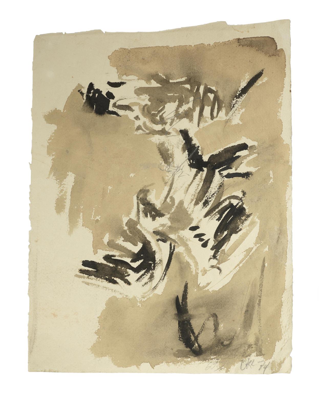 Georg Baselitz-Adler-1974