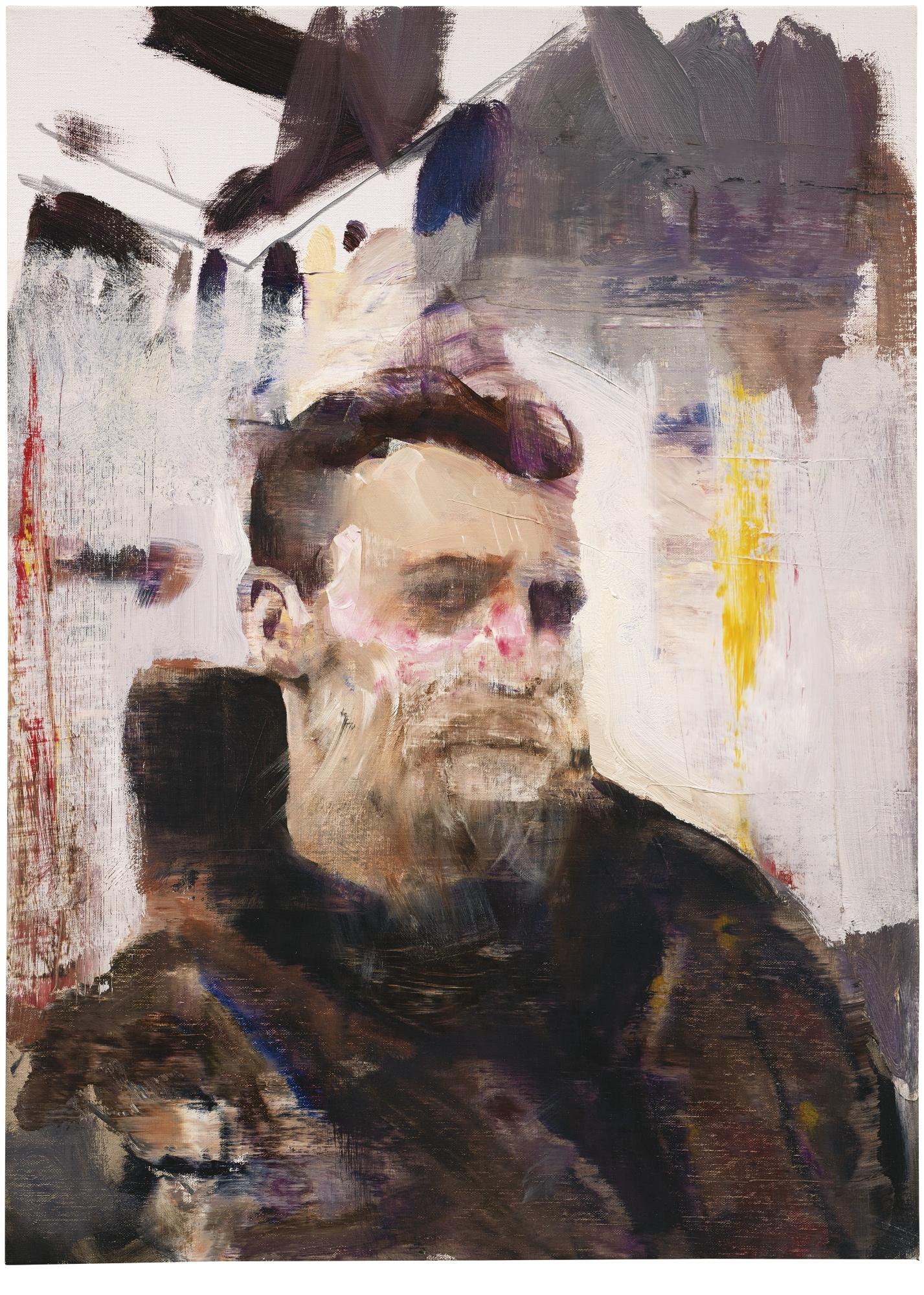 Adrian Ghenie-Self Portrait As A Monkey-2011