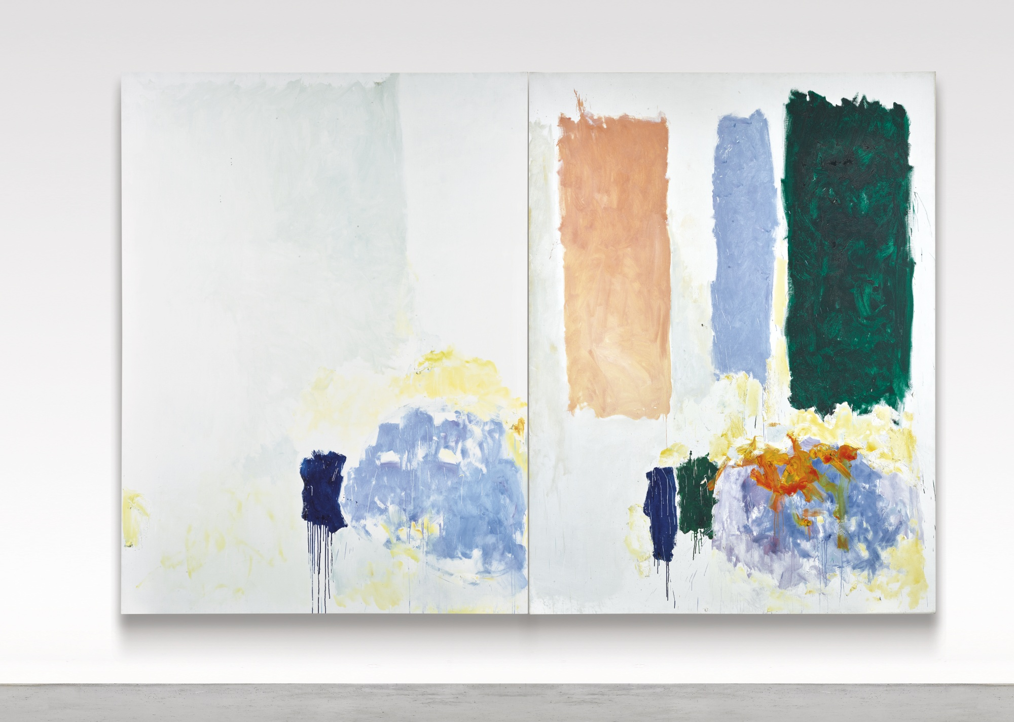 Joan Mitchell-They Never Appeared With The White-1973