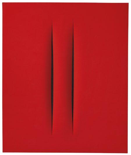 Lucio Fontana-Concetto Spaziale Attese-1968
