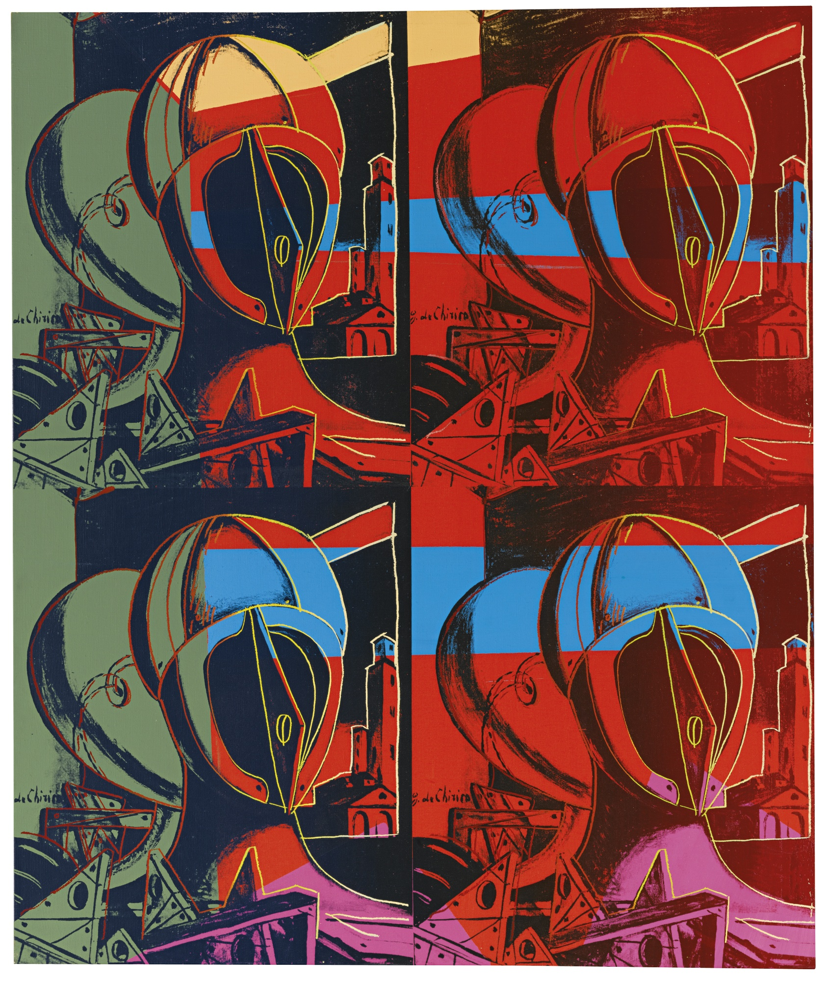 Andy Warhol-The Two Sisters (After De Chirico)-1982