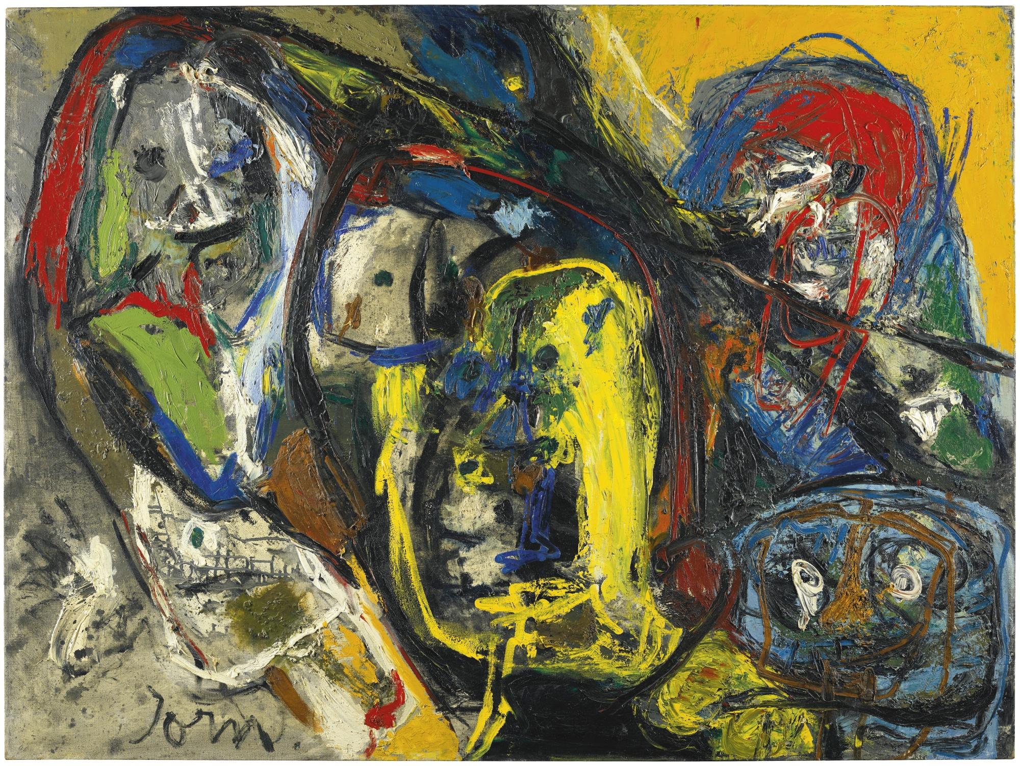 Asger Jorn-L'Etat Normal (The Normal State)-1959