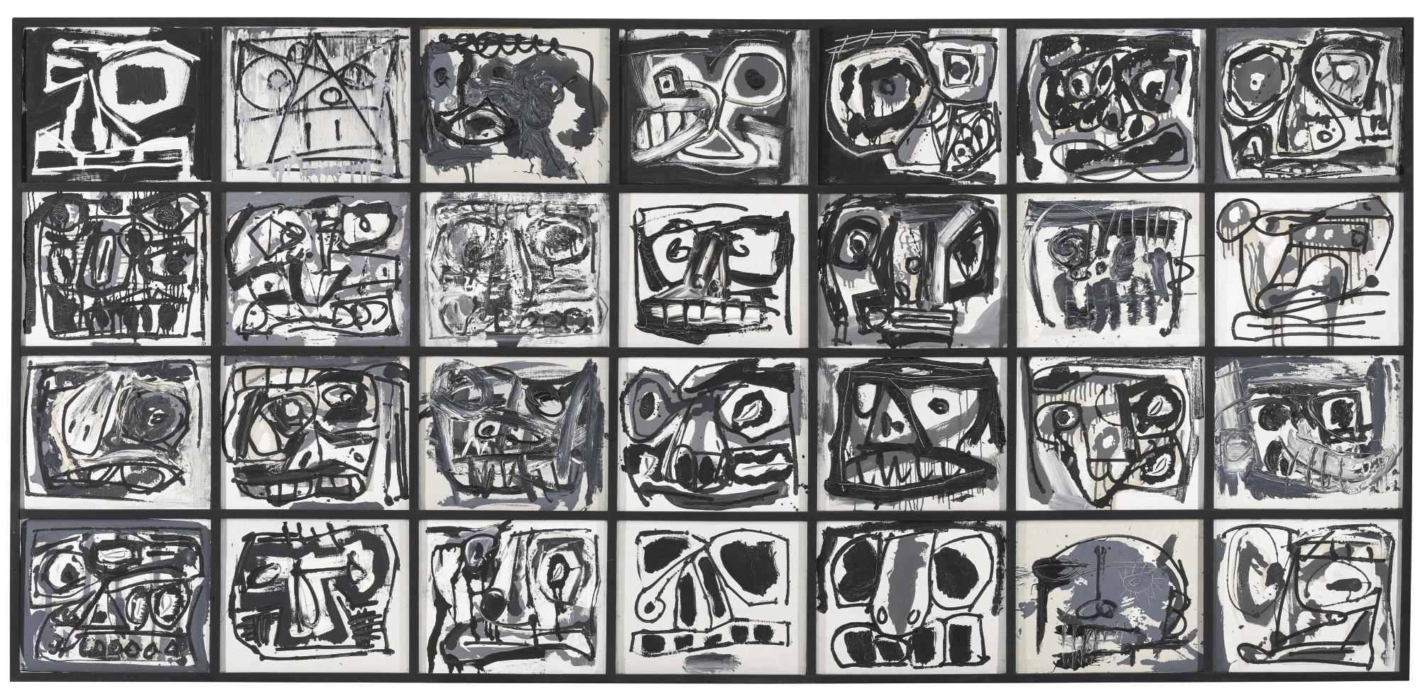 Antonio Saura-Metamorfosis-1964