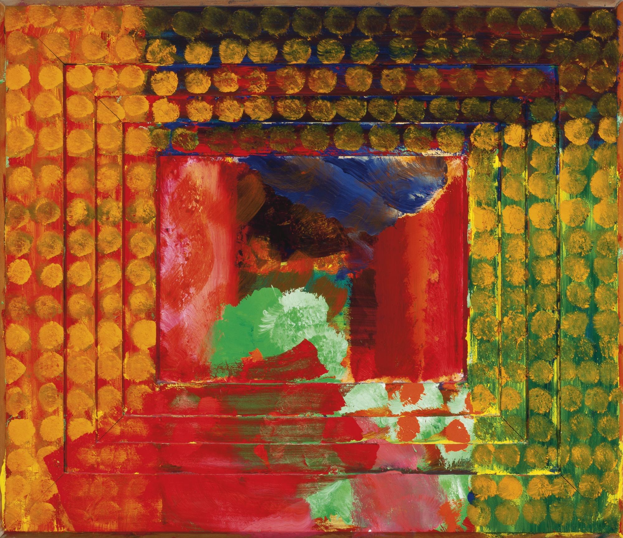 Howard Hodgkin-Portrait Of The Artist-1987