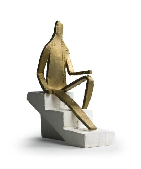 Bruce Nauman-Maquette For 5 Foot 8 Inch Figure-1998