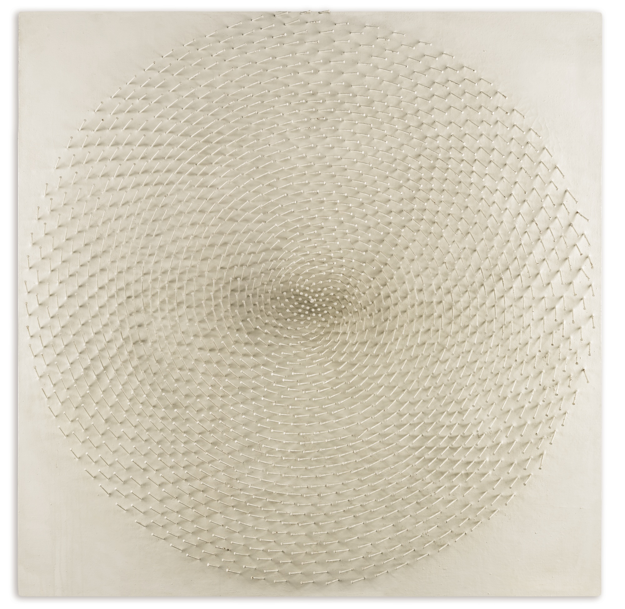 Gunther Uecker-Spirale-1966
