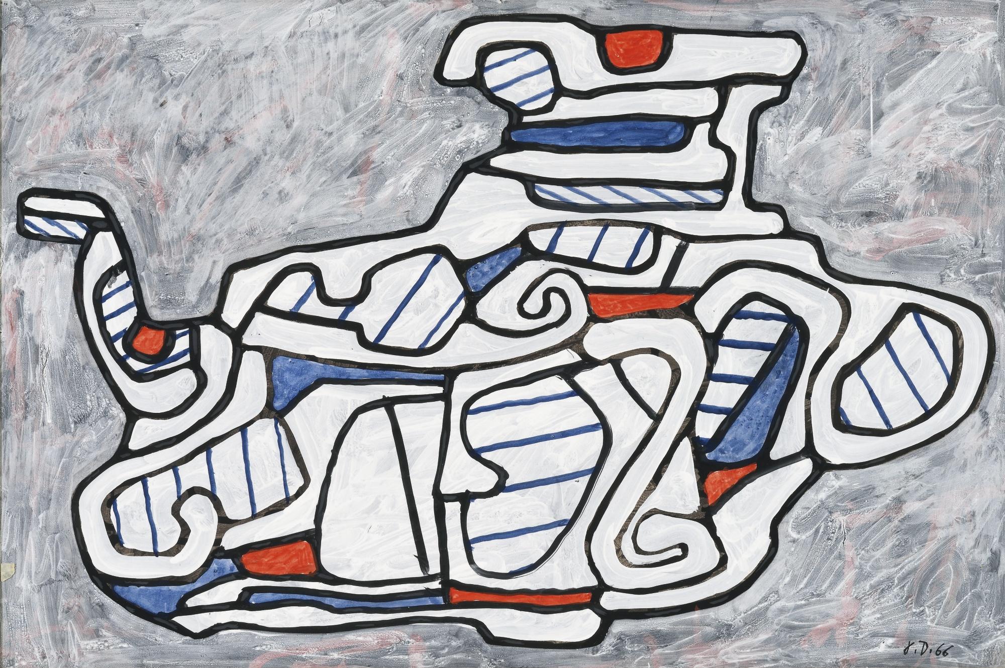 Jean Dubuffet-Theiere II-1966
