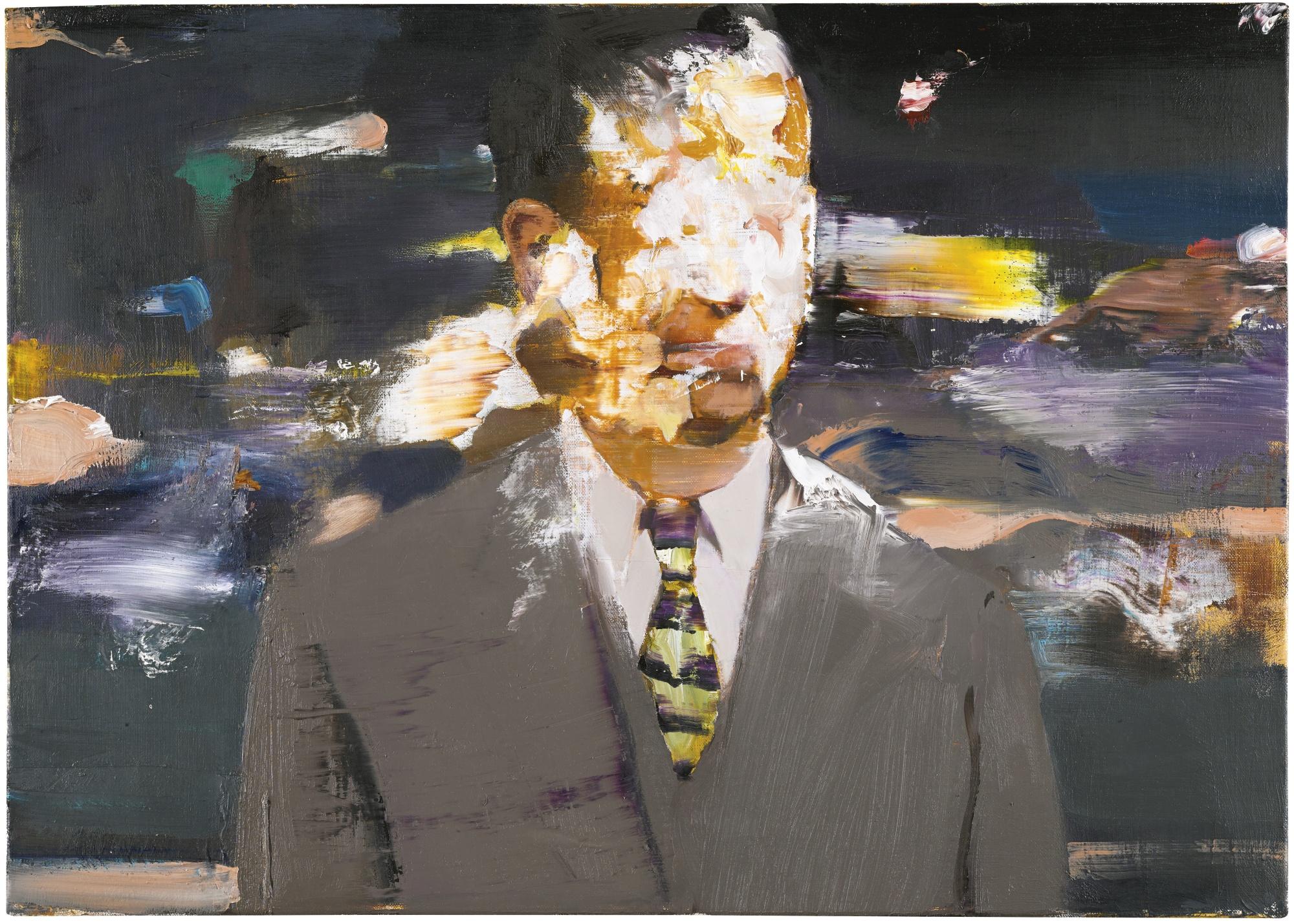 Adrian Ghenie-Pie Fight Study 5-2012