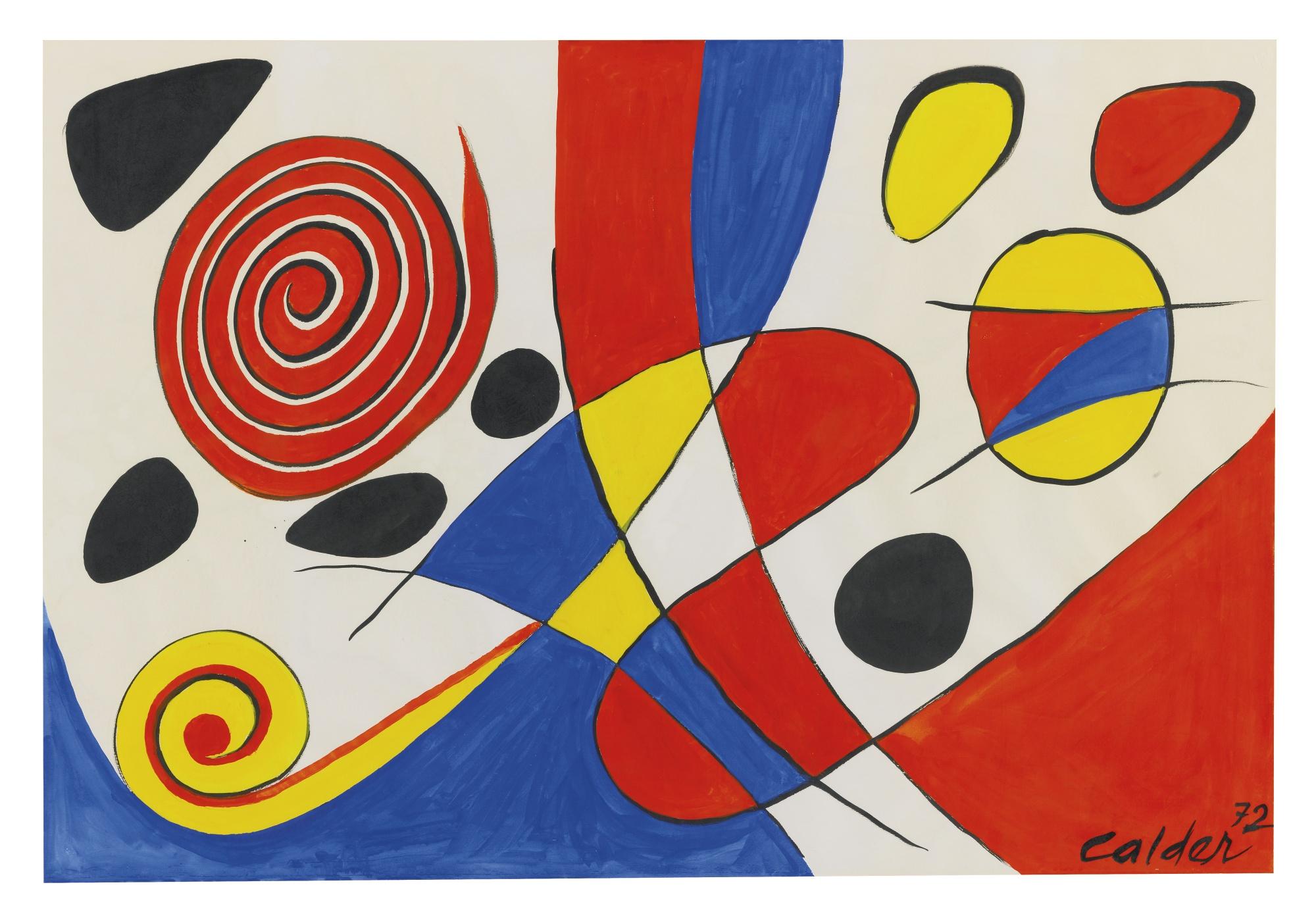Alexander Calder-Spirale-1972