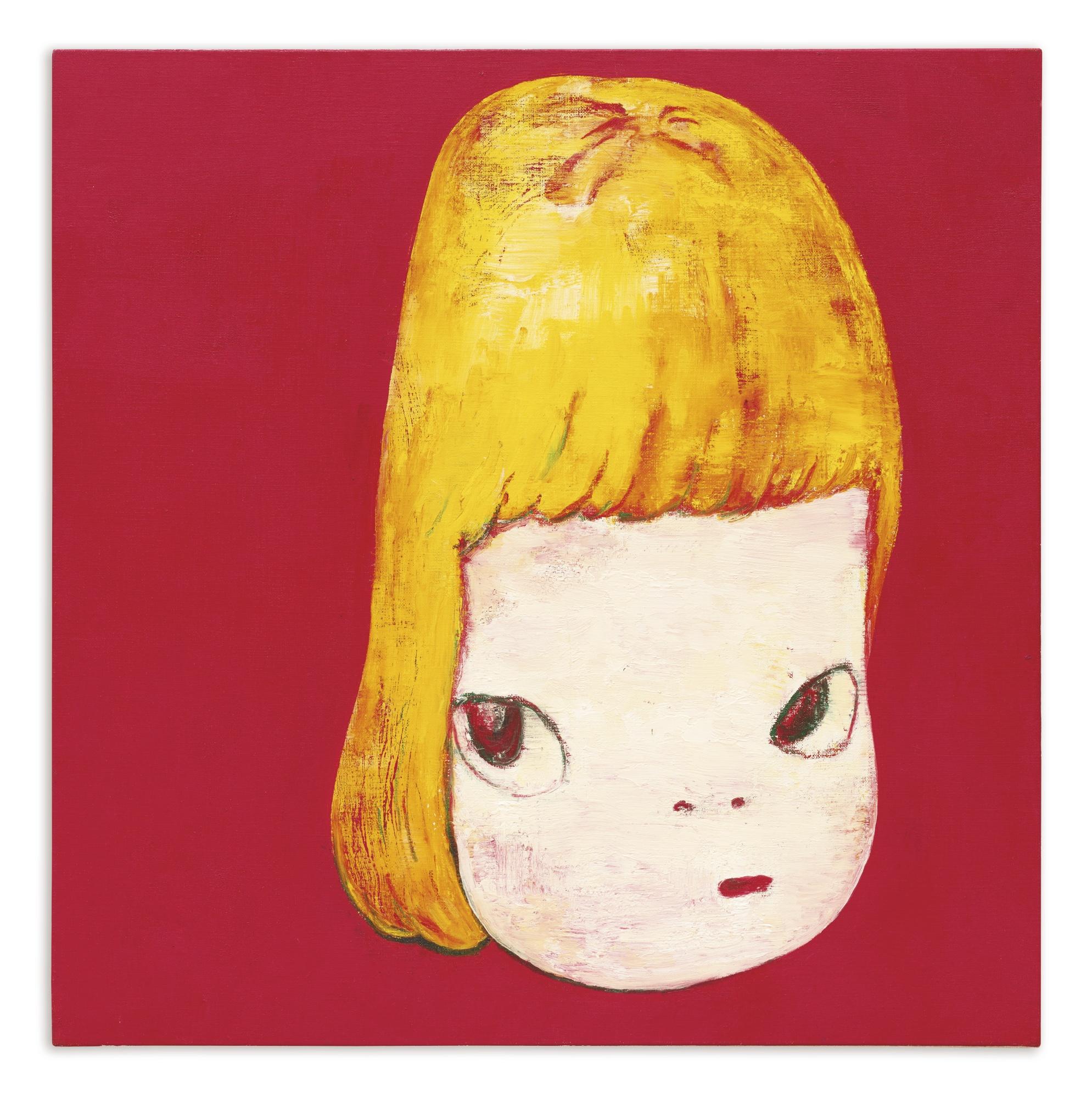 Yoshitomo Nara-Girl In Red-1995