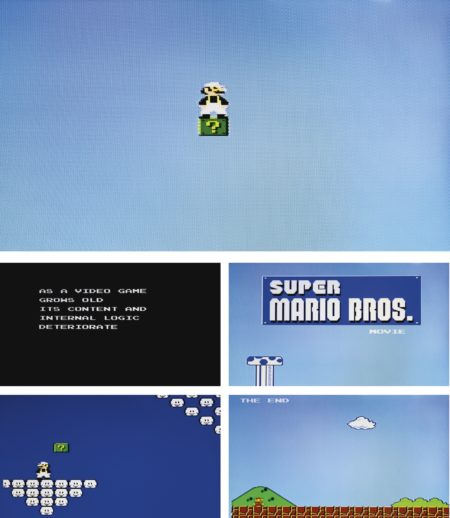 Cory Arcangel-Paper Rad-Super Mario Movie-2005