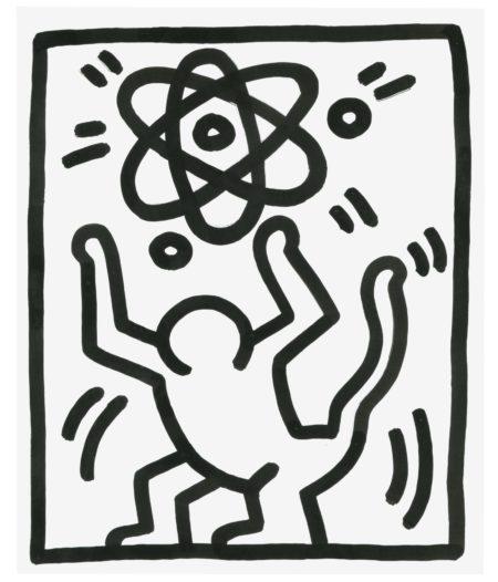 Keith Haring-Untitled (3 Legged Man)-1983