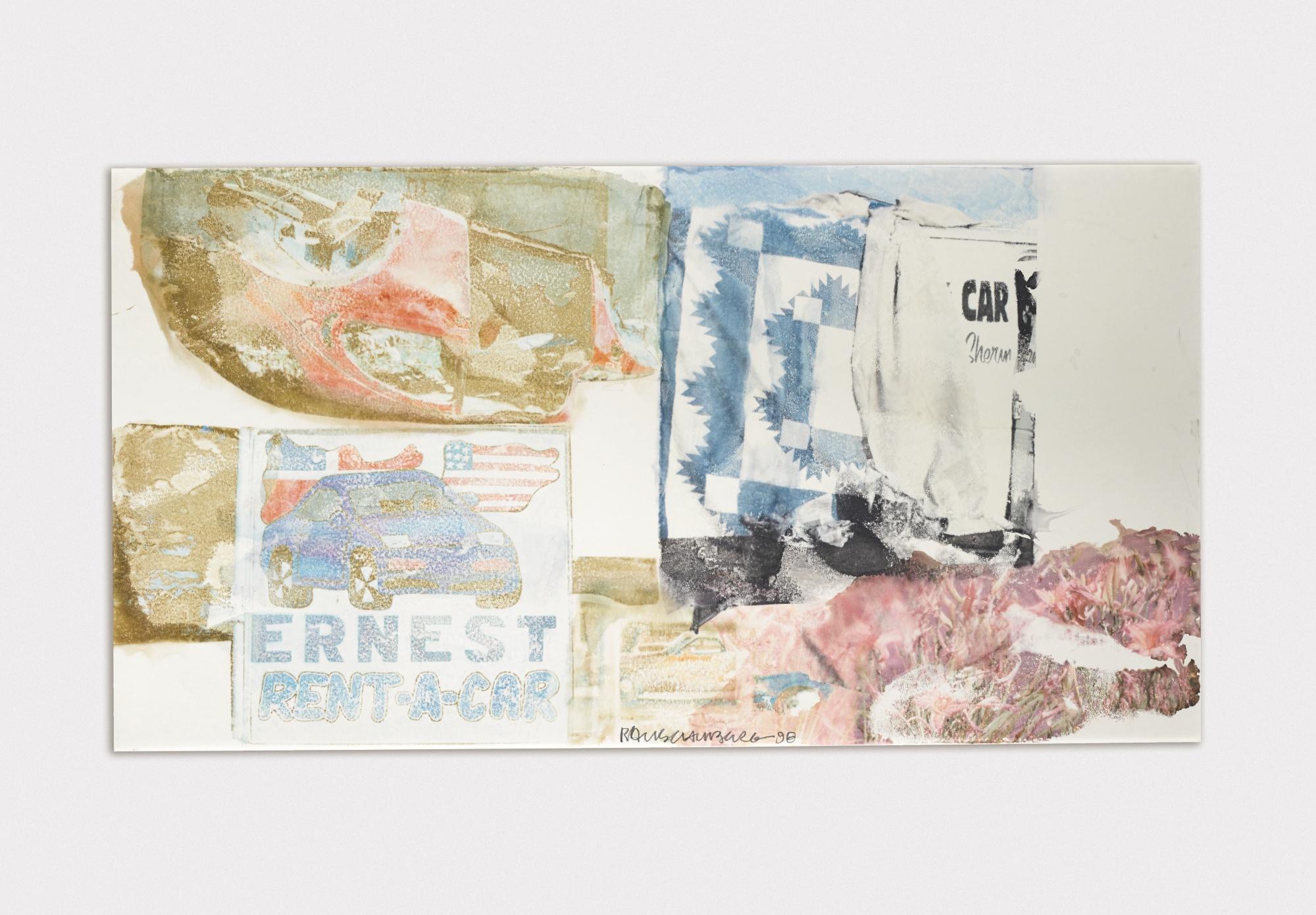 Robert Rauschenberg-Primer-1989