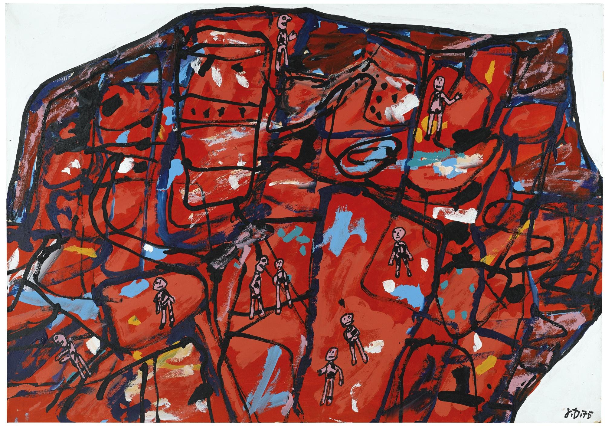 Jean Dubuffet-Paysage Du Limousin II-1975