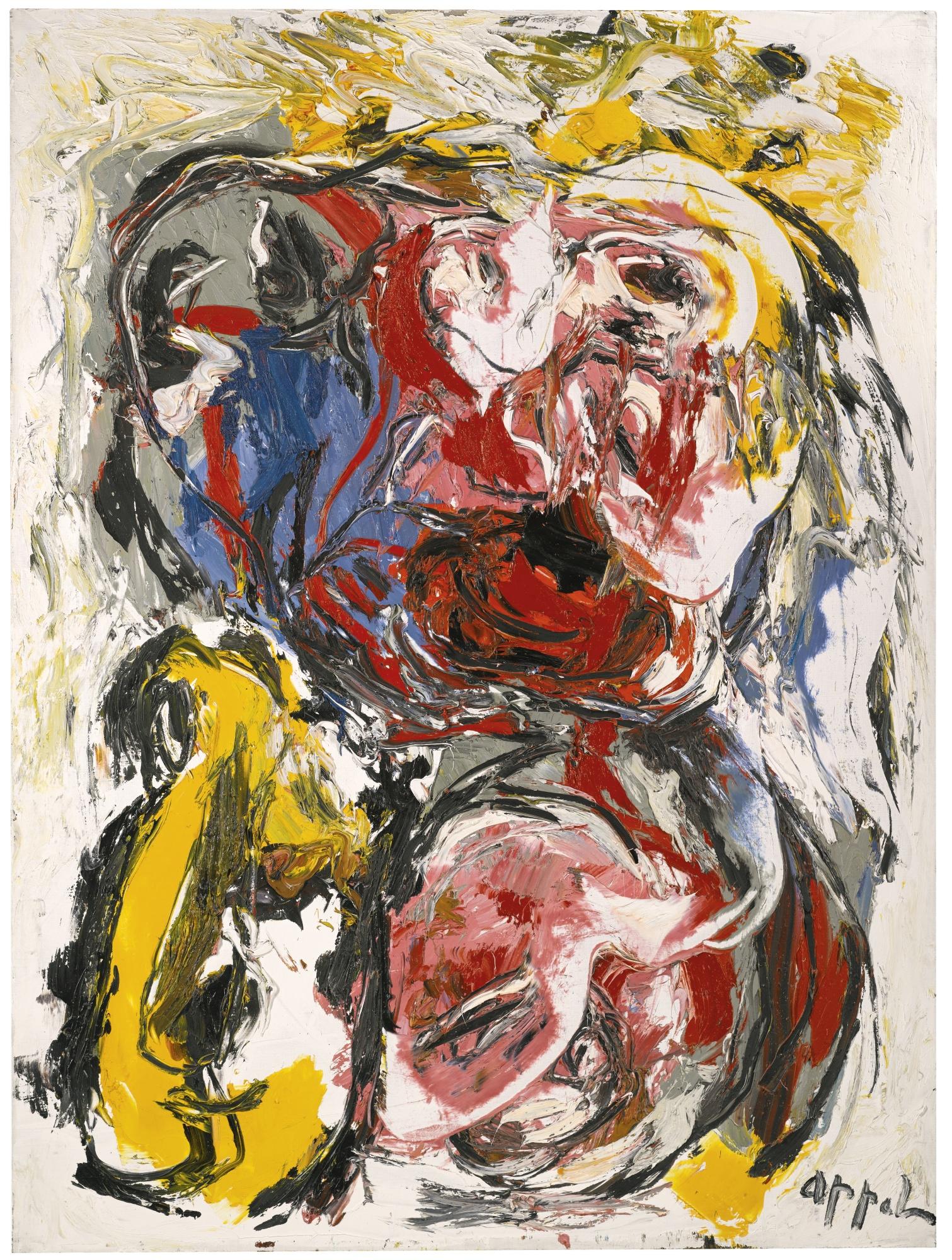 Karel Appel-Le Visage-1962