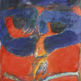 Horst Antes-Figur Herodias-1959