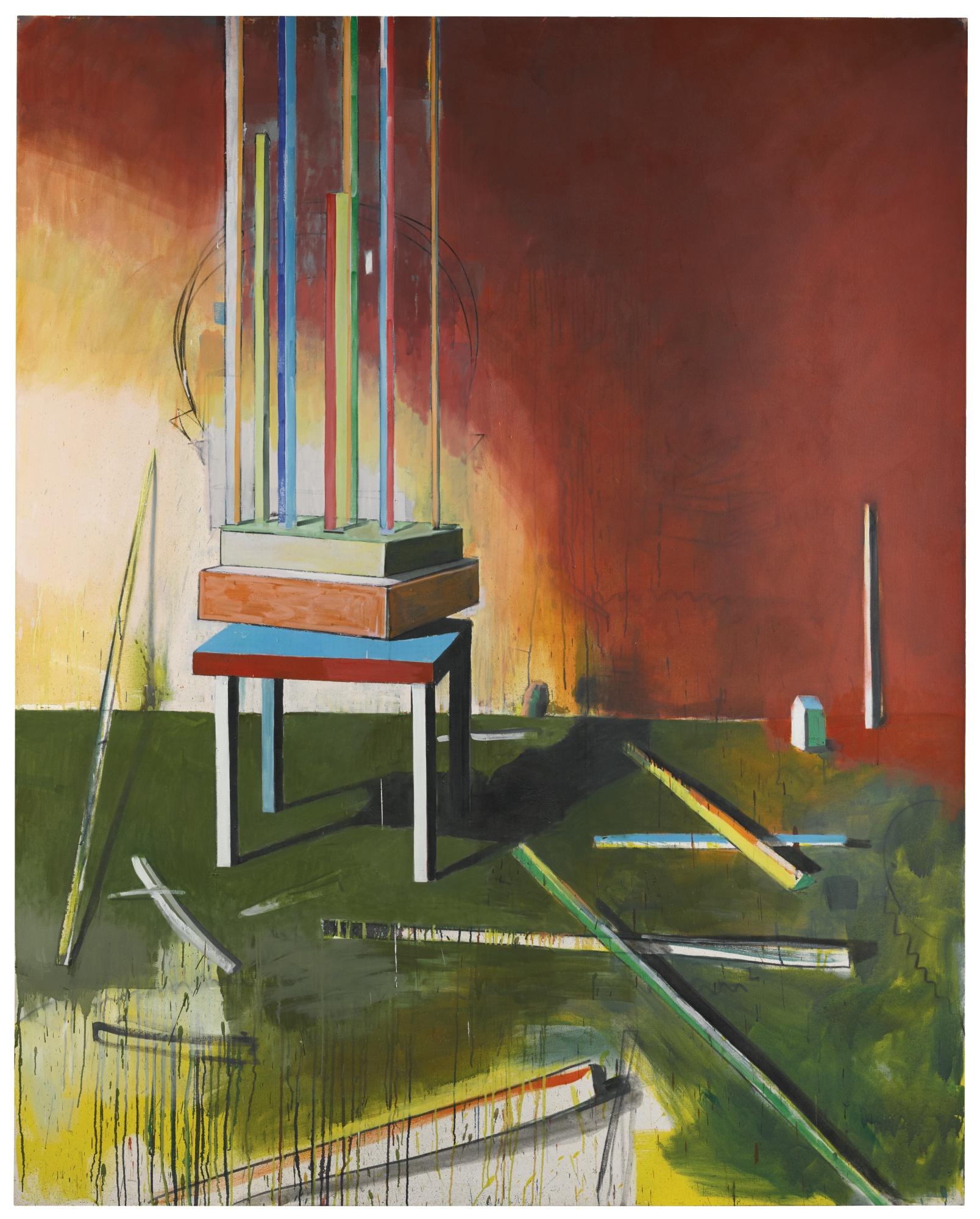 Matthias Weischer-Raum Nr.2-2000