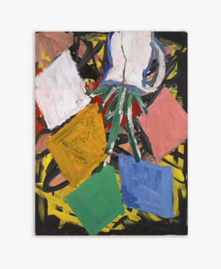 Georg Baselitz-Das Motiv: Der Blumenstrauss-1988