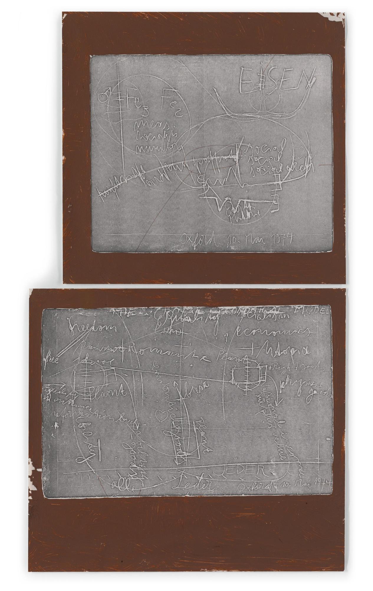 Joseph Beuys-From Hearth I-1978