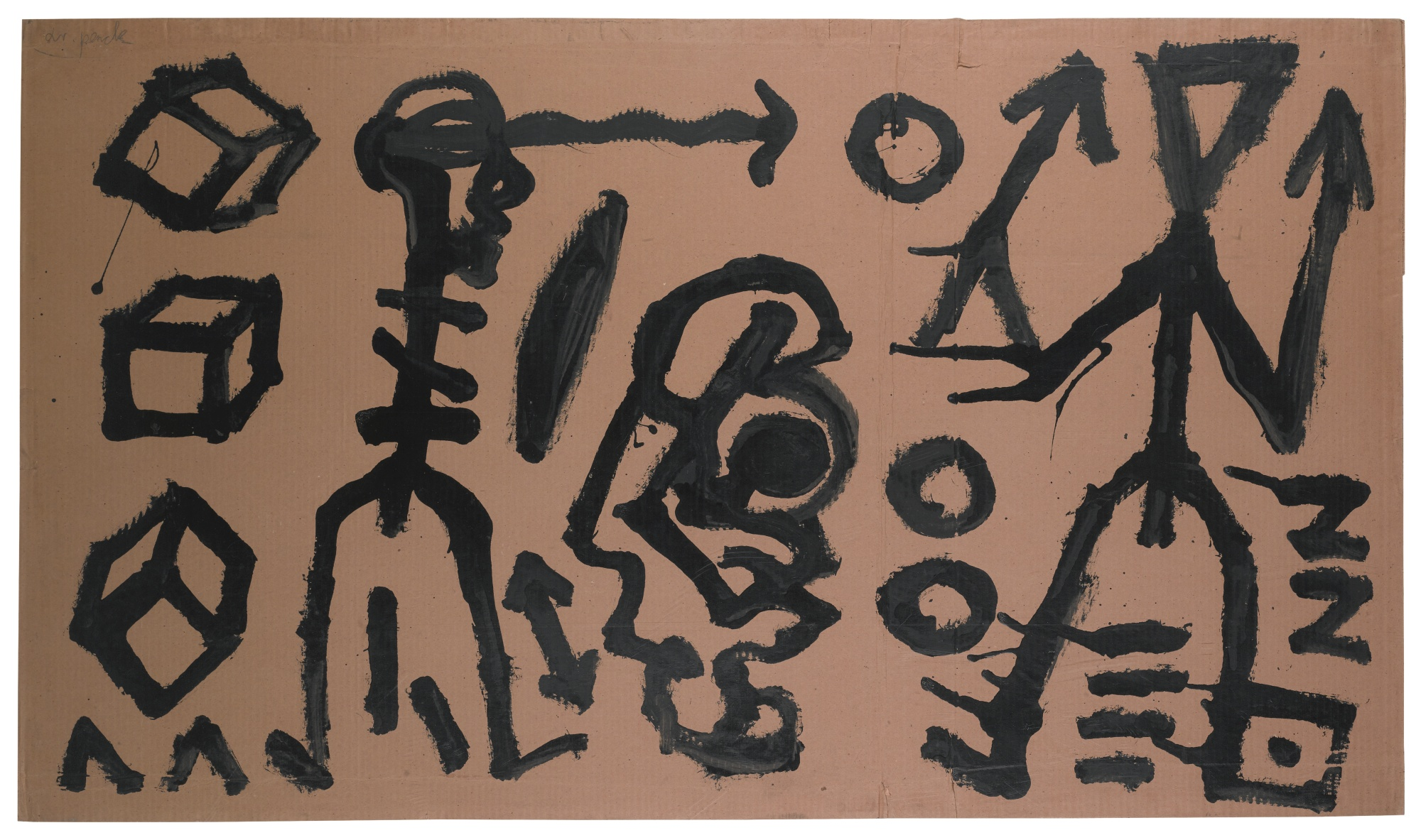A.R. Penck-Untitled-1980