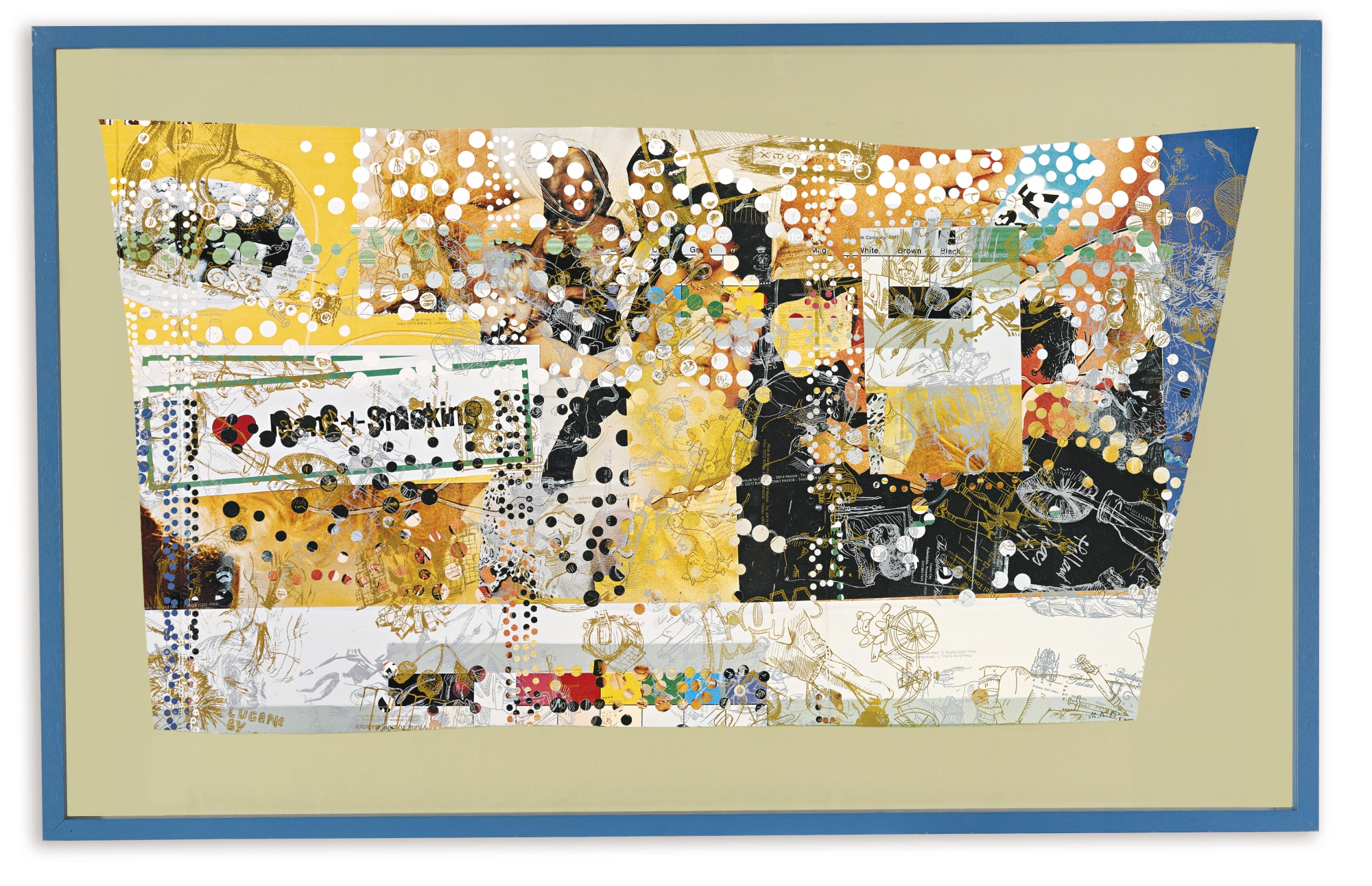 Martin Kippenberger-Untitled (Jeans & Smoking)-1989