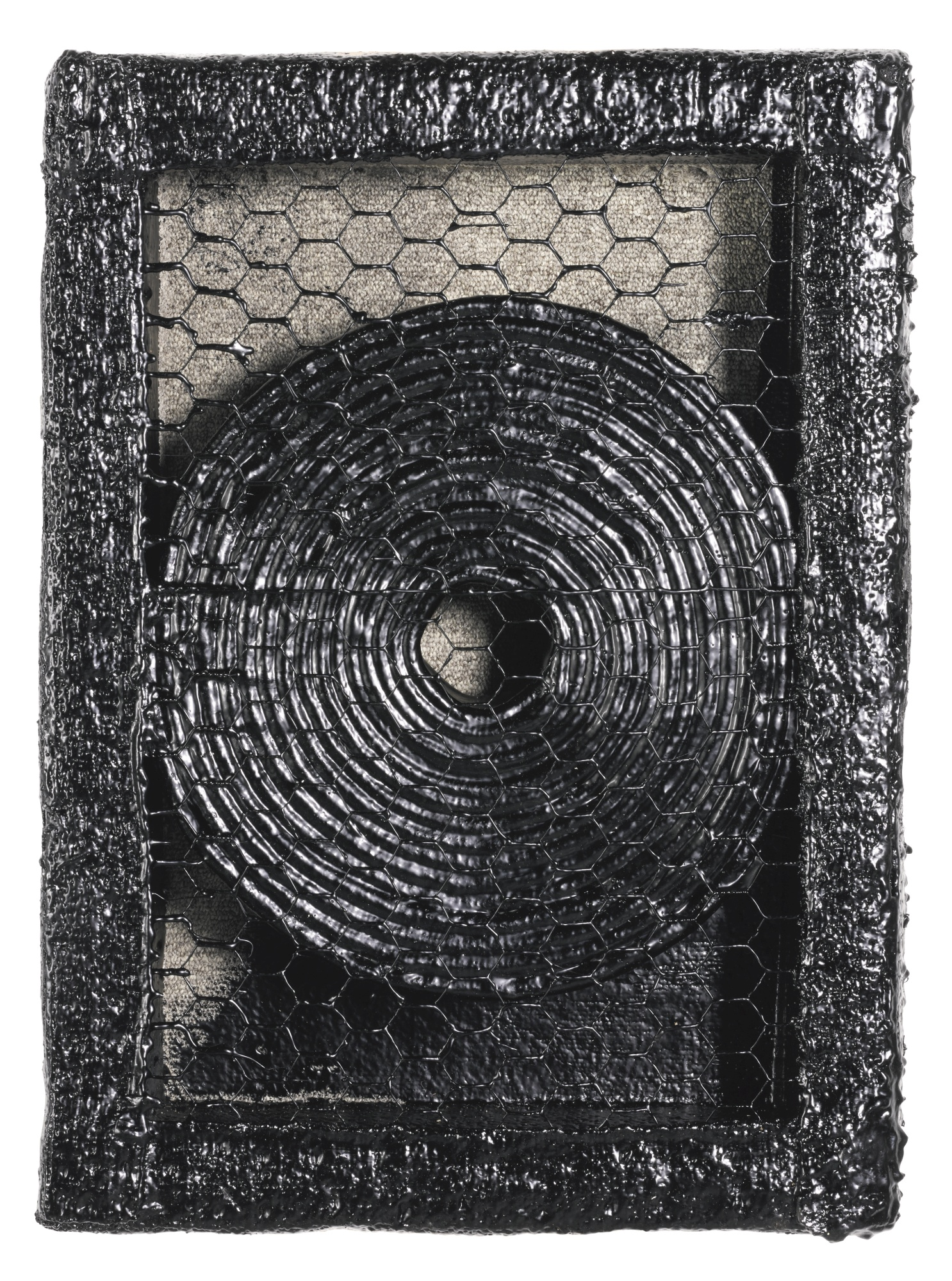 Theaster Gates-Quiet Riot With Tar-2012