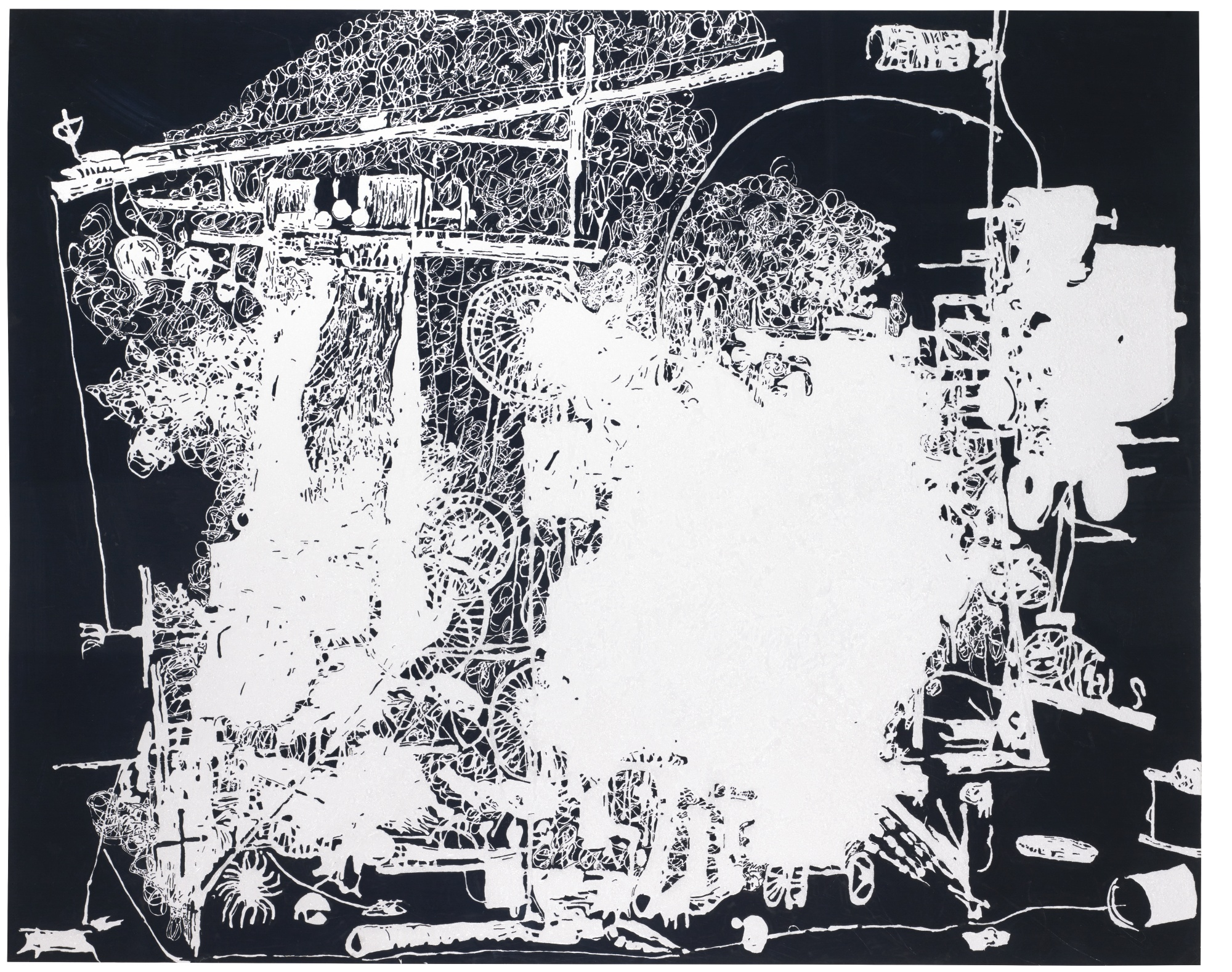 Michael Landy-H.2.N.Y. Self-Mutilating Machine-2006